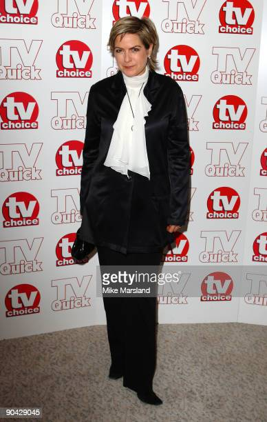Penny Smith attends the TV Quick Tv Choice Awards at The Dorchester on September 7 2009 in London England