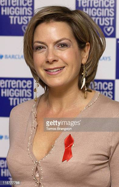 Penny Smith during 10th Lighthouse Gala Auction at Christie's in London Great Britain