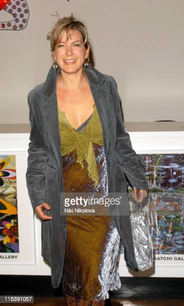 Penny Smith during Audi Makes Broadcasting History Celebrity Photocall at Saatchi Gallery in London Great Britain