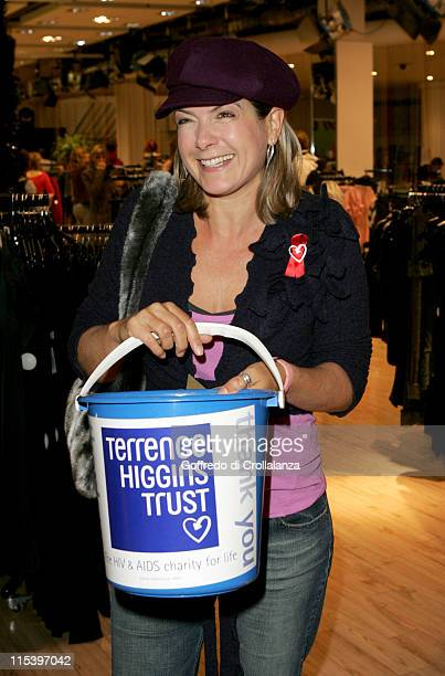 Penny Smith during Celebrity Shopping Evening at Topshop in Aid of The Terrence Higgins Trust December 1 2005 at Topshop Oxford Street in London...