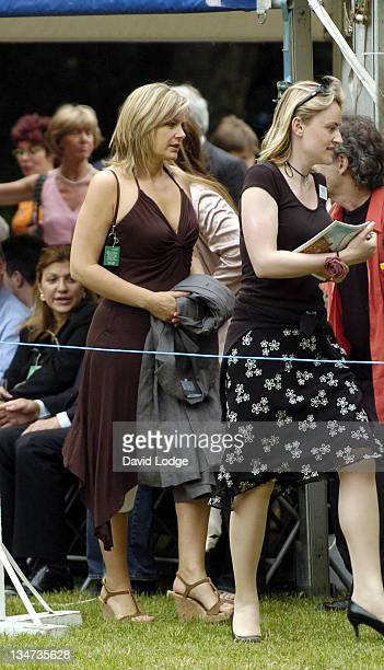 Penny Smith during House of Lords vs House of Commons Tug of War June 21 2005 at Victoria Tower Gardens in London Great Britain