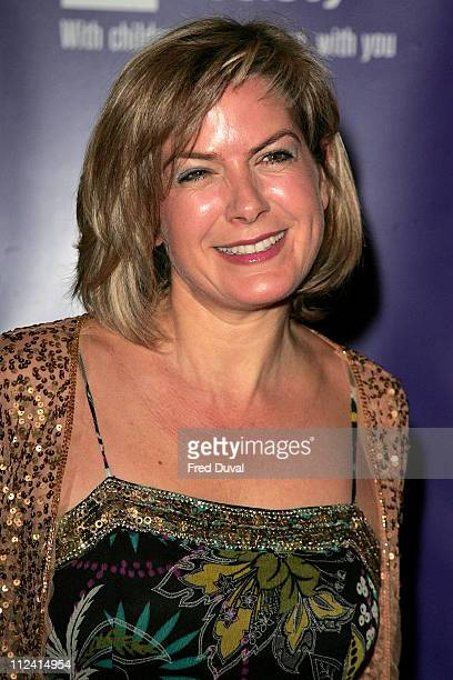 Penny Smith during The 2007 Children's Society Annual Ball at Claridge's Hotel in London United Kingdom