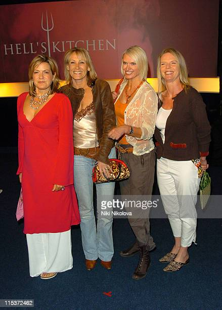 Penny Smith Ingrid Tarrant Anneka Rice and Tina Baker