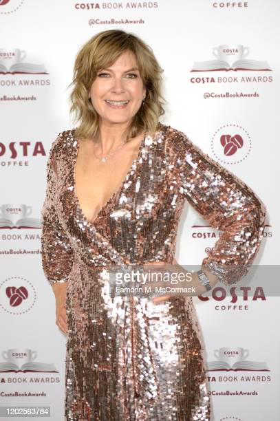 Penny Smith pictured tonight at the Costa Book Awards at Quaglino's on January 28 2020 in London England