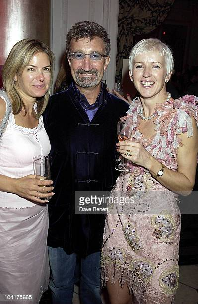 Penny Smith With Eddie Jordan And Marie Jordan Pink Pink Party Thrown By Laurent Perier Champagne