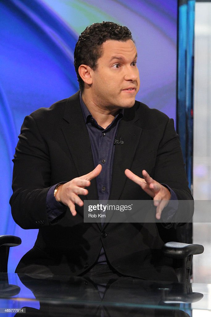 Penny stock expert Timothy Sykes visits 'Opening Bell With Maria Bartiromo' on the FOX Business Network at FOX Studios on March 10, 2015 in New York City.