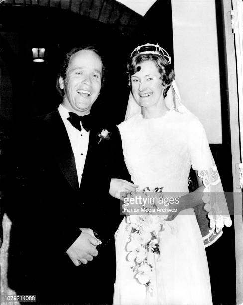 Penny Watkins weds Anthony KingsfordSmith at St Albans Church of England Lindfield December 23 1974