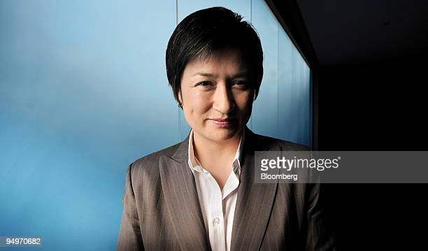 Penny Wong Australia's minister for climate change poses for a photograph following an interview in Sydney Australia on Friday July 31 2009 Australia...