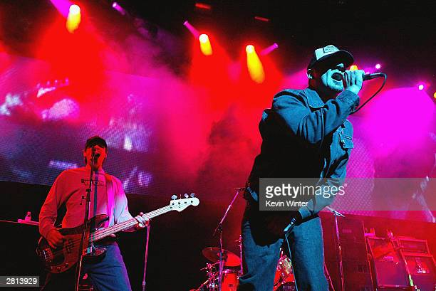 Pennywise perform at 'KROQ's 2003 Almost Acoustic Christmas' at the Universal Amphitheatre in Los Angeles California