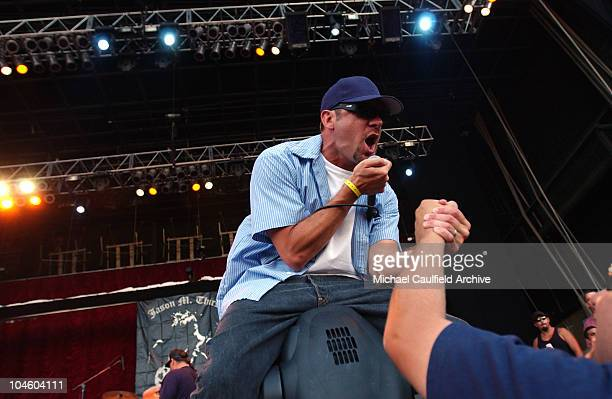 Pennywise played to a crowd of more than 30000 music fans during the Levi's /KROQ Inland Invasion concert at the Glen Helen Blockbuster Pavilion in...