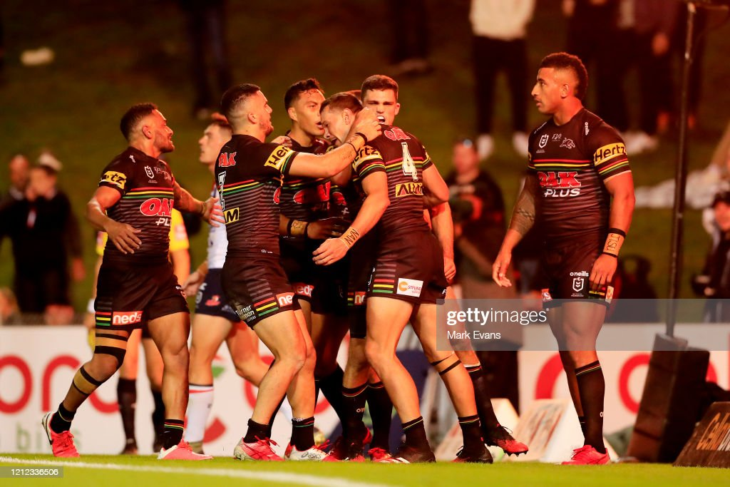 NRL Rd 1 - Panthers v Roosters : News Photo