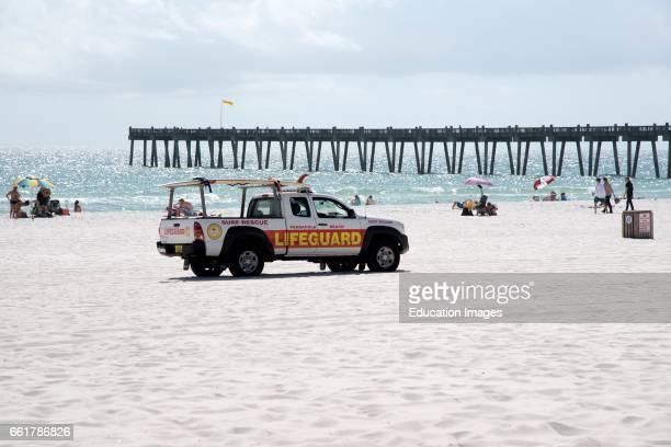 Pensacola Beach Florida USA Lifeguard beach patrol