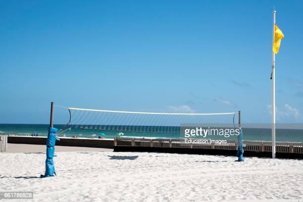 Pensacola Beach Florida USA Volleyball net
