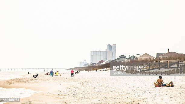 pensacola beach. - pensacola beach stock pictures, royalty-free photos & images