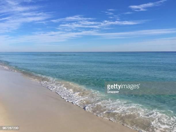 pensacola beach, santa rosa, florida, america, usa - pensacola beach stock pictures, royalty-free photos & images
