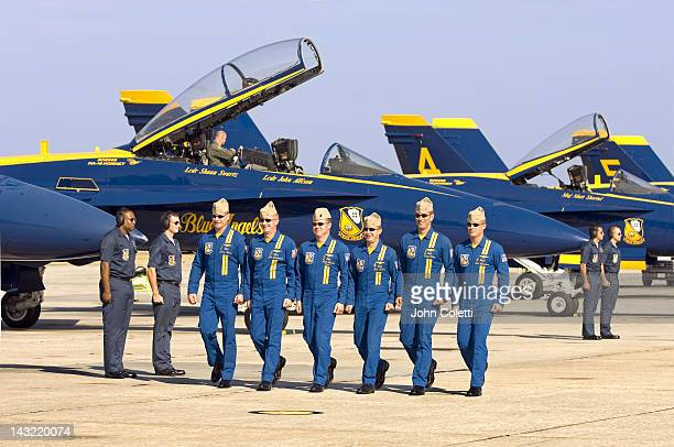 pensacola, naval air station, blue angels - naval air station pensacola stockfoto's en -beelden