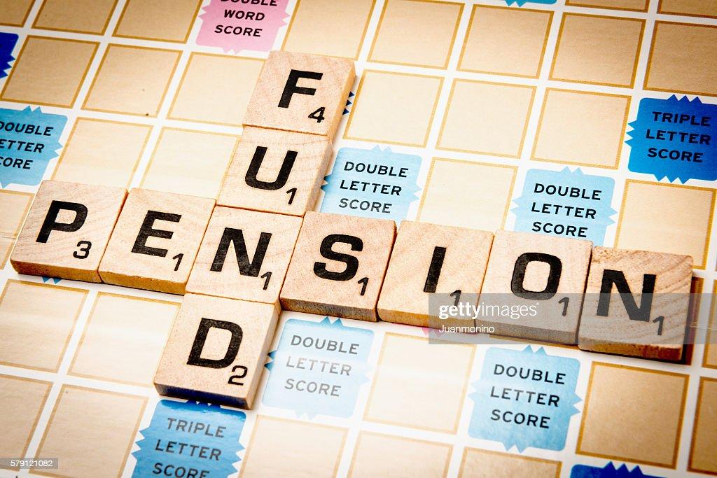 Pension Fund : Stock Photo