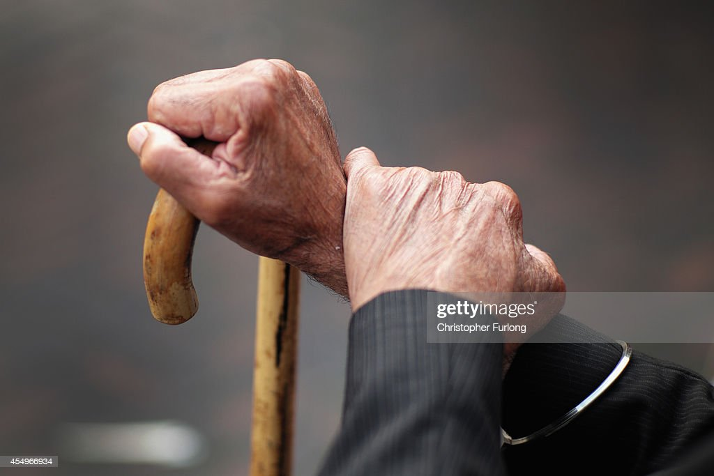 Pensioners in Retirement : News Photo