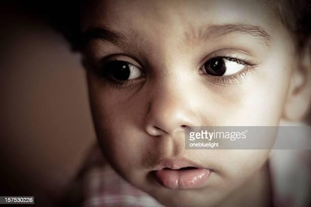 Pensive Baby Girl (1-2)
