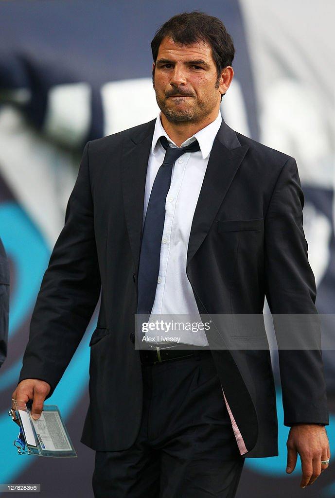 France v Tonga - IRB RWC 2011 Match 35