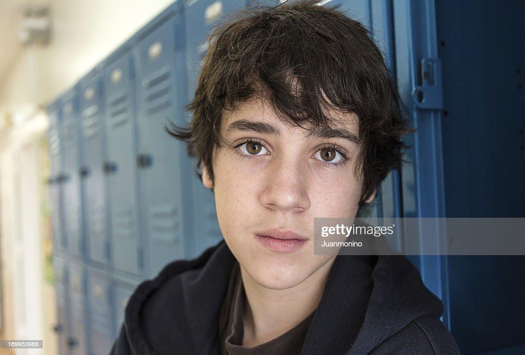 Nachdenklich Teenager : Stock-Foto