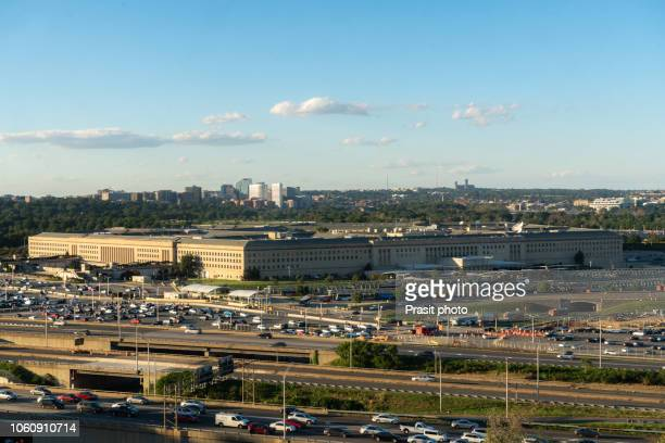 us pentagon in washington dc, usa. - us army urban warfare stock photos and pictures