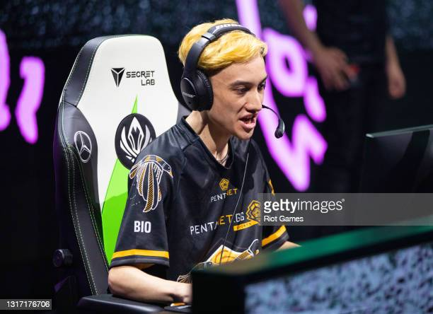 """Pentanet.GG's Brandon """"BioPanther"""" Alexander at the 2021 MSI annual League of Legends tournament on May 9, 2021 in Reykjavik, Iceland."""