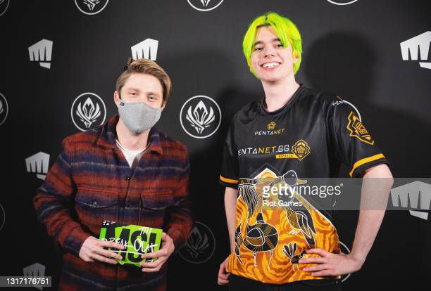 """Pentanet.GG's Jackson """"Pabu"""" Pavone at the 2021 MSI annual League of Legends tournament on May 9, 2021 in Reykjavik, Iceland."""