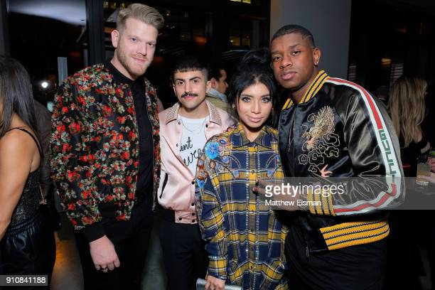 Pentatonix attends Republic Records Celebrates the GRAMMY Awards in Partnership with Cadillac Ciroc and Barclays Center at Cadillac House on January...