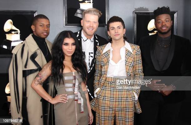 Pentatonix attends the 61st Annual GRAMMY Awards at Staples Center on February 10 2019 in Los Angeles California