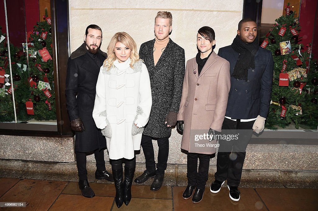 Pentatonix members Avi Kaplan, Kirstie Maldonado, Scott Hoying