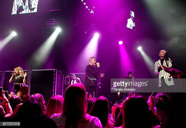 Pentatonix perform at Microsoft Theater on May 1 2016 in Los Angeles California