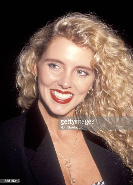 Penthosue Pet Amy Lynn Baxter attends Kim Charlton's Birthday Party on July 29 1991 at the Amazon Village in New York City