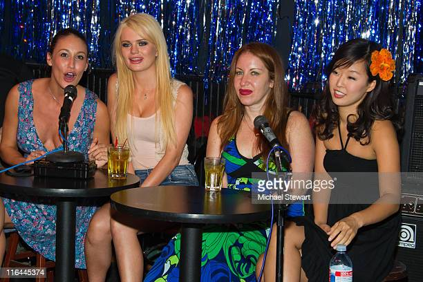 Penthour Pet Ryan Keely Penthouse Pet Alexis Ford author Lainie Speiser and comedian Esther Ku attend Sex Dope Cheap Thrills Episode 3 at Parkside...