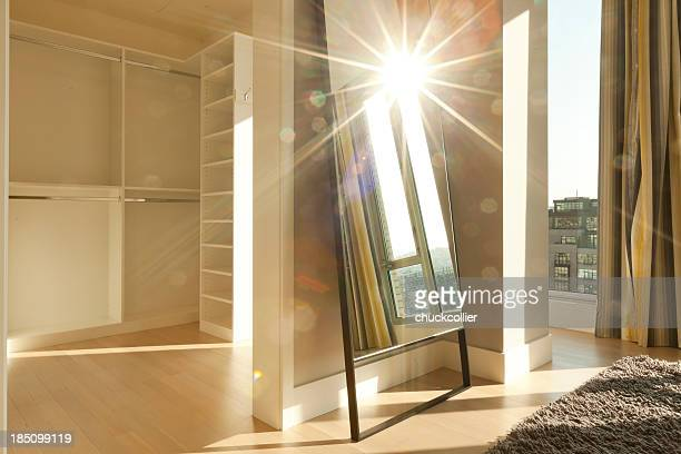 Penthouse-Apartment mit abstrakte Sonne Flair