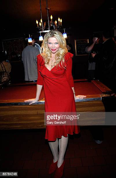 Penthouse columnist Victoria Zdrok attends the PenthouseWarming at Fraunces Tavern on November 21 2008 in New York City