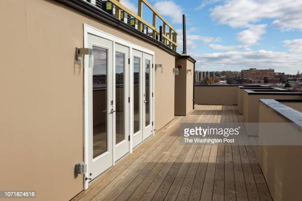 Penthouse Doors on the Roofdeck off Randolf 14 on November 27 2018 in Washington DC