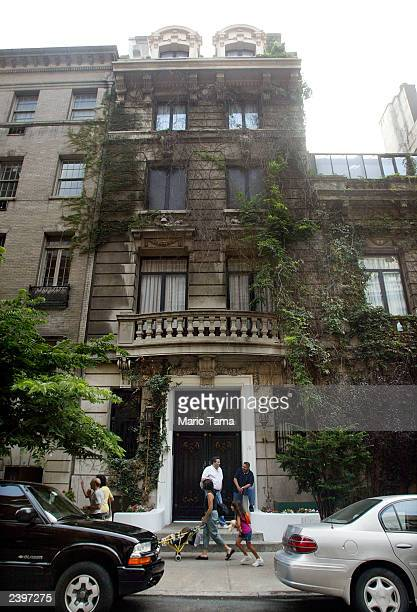 Penthouse Magazine founder Bob Guccione's famous Penthouse Mansion is seen August 13 2003 in New York City Penthouse Magazine is rumored to be...