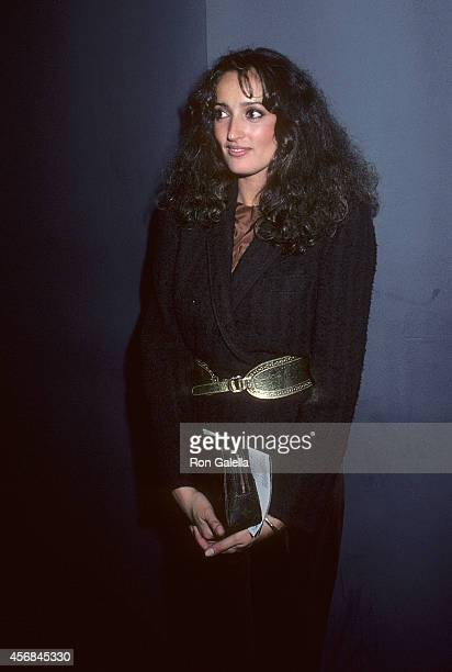 Penthouse Pet Isabel Lanza attends The Elephant Man Premiere Party on October 2 1980 at Magique in New York City