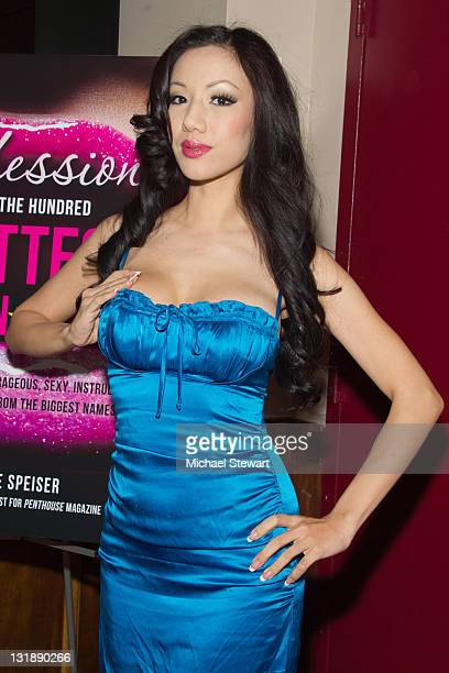 Penthouse Pet Jade Vixen attends the Confessions Of The Hundred Hottest Porn Stars book launch party at Rick's Cabaret on June 14 2011 in New York...
