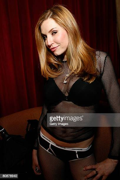 Penthouse Pet Jamie Lynn poses at Hawaiian Tropic Zone's 'Torrid' Nightclub for Strip Las Vegas May release party inside the Planet Hollywood Resort...