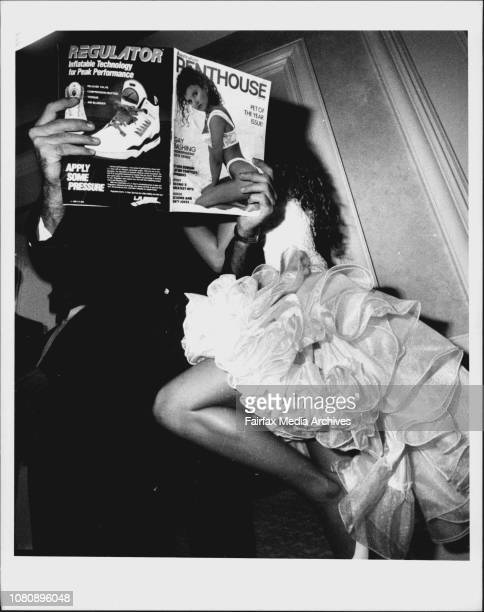 Penthouse Pet of the year competition at the Sydney Hilton last night March 1 1991