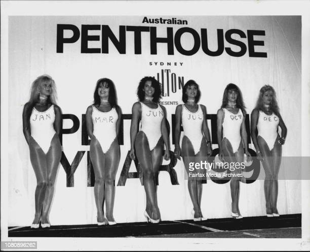 Penthouse Pet of the year competition at the Sydney Hilton last nightAnd here's Donna ladies and gentlemen all the way from New Zealand She likes...