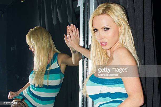 Penthouse Pet of the Year Nikki Benz attends at Starlets on September 24 2011 in the Queens borough of New York City