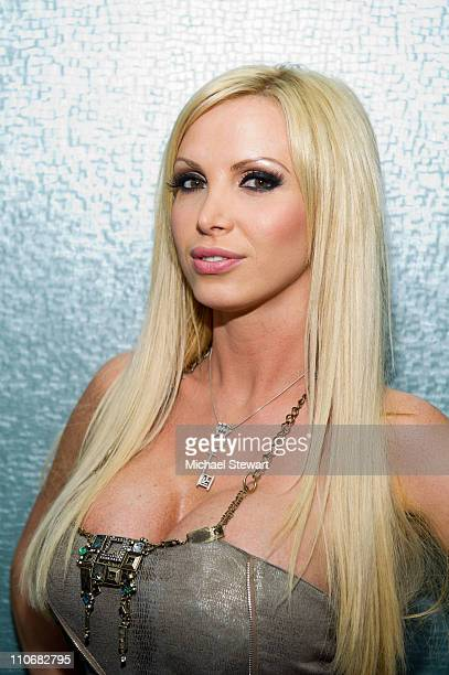 Penthouse Pet of the Year Nikki Benz visits Steppin' Out of the Tabloids at Sapphire's Gentlemen Club on March 22 2011 in New York City