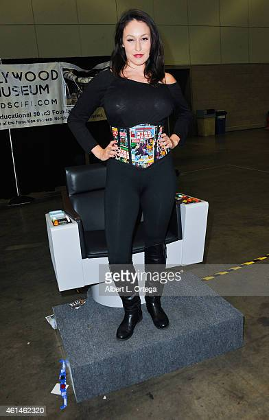 Penthouse Pet Ryan Keely attends Day 2 of the Third Annual Stan Lee's Comikaze Expo held at Los Angeles Convention Center on November 1 2014 in Los...