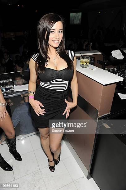 Penthouse pet Taylor Vixen hosts the Penthouse model competition at the Pure Nightclub at Caesars Palace on January 8 2010 in Las Vegas Nevada