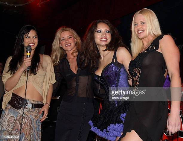 Penthouse Pets during Penthouse Magazine Presents Tommy Lee in Concert at BB King's in New York City New York United States