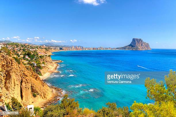 penyal d'ifac - calpe stock pictures, royalty-free photos & images