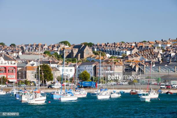 penzance, cornwall - penzance stock pictures, royalty-free photos & images